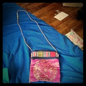 Funky patchwork coinpurse